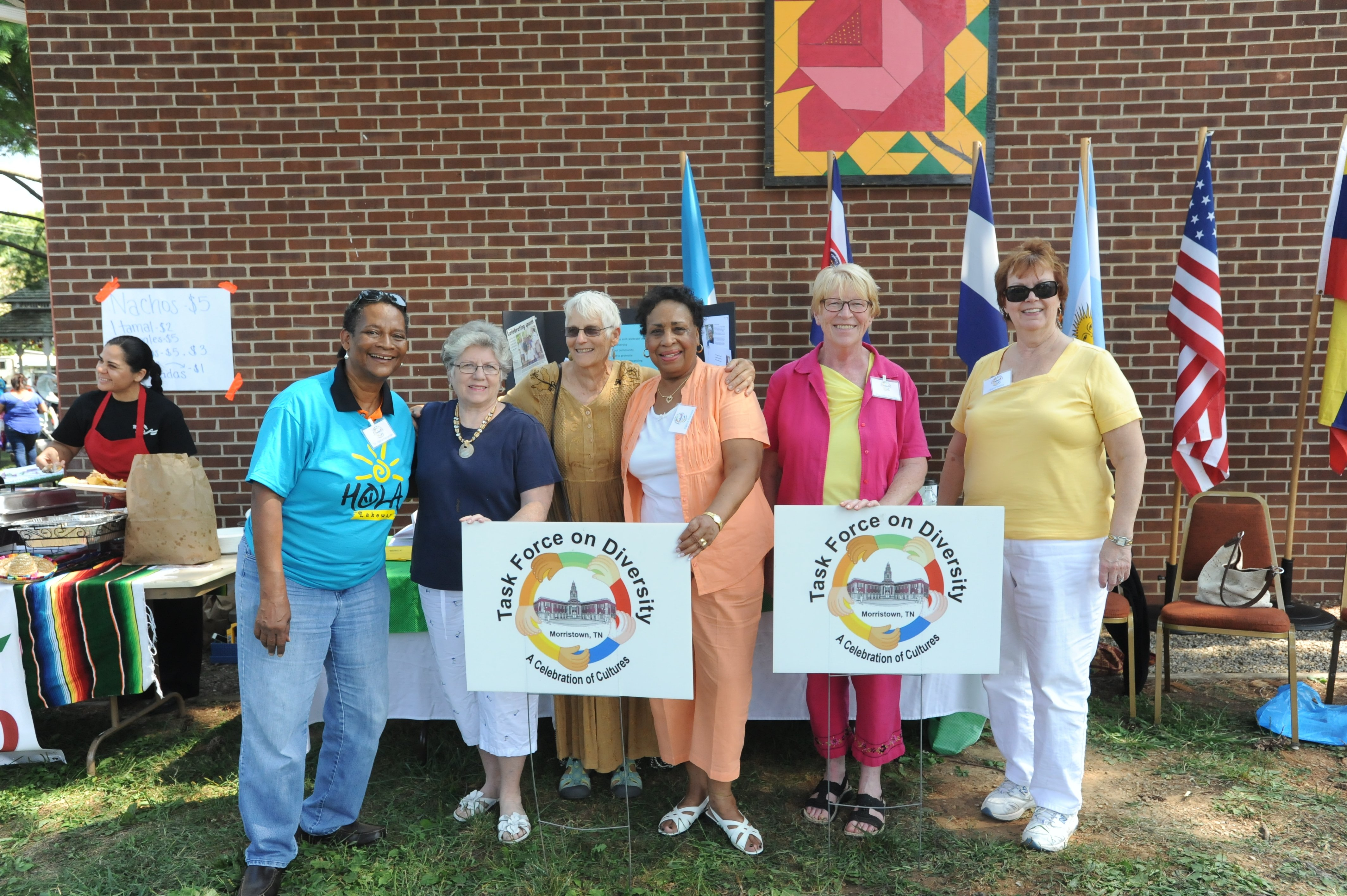 From left to right: Chairperson, Dr. Alpha Alexander; The Rev. Scherry Fouke, Member; Anna Tursich, member; Patrice Conway, Vice-Chair; Pauletta Thomas, member; Sami Barile, Founder and Sec/Treas.